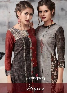 RANGOON SPICE KURTS AT CHEAPEST PRICE IN SURAT