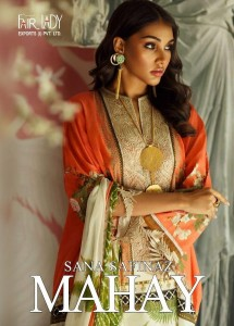 FAIR LADY SANA SAFINAZ MAHAY PAKISTANI LAWN SUITS BEST PRICE