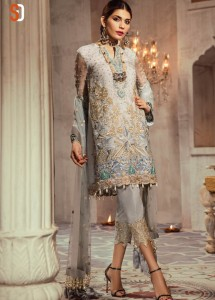 SHRADDHA DESIGNER HONEY WAQAR PAKISTANI REPLICA SUITS ONLINE INDIA