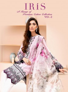 SHREE FABS IRIS VOL 2 1339-1344 SALWAR SUITS WITH PRICE
