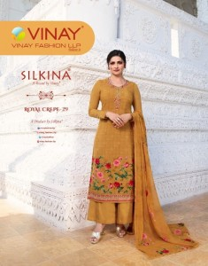 VINAY FASHION SILKINA ROYAL CREPE VOL. 29 ONLINE SHOPPING