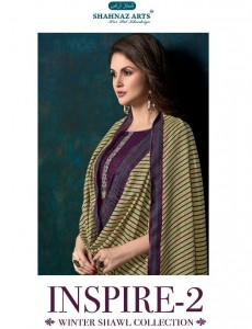 SHAHNAZ ARTS INSPIRE VOL 2 WITH SHAWL MANUFACTURING COST