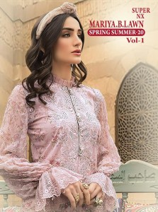 SHREE FABS MARIYA B LAWN SPRING SUMMER 20 VOL 1 SUPER NX WHOLESALER