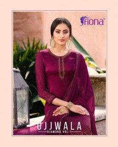 FIONA UJJWALA DIAMOND VOL 1 DRESS MATERIAL AT WHOLESALE PRICE