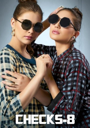 b637fdbf73 SWEETY FASHION CHECKS VOL 8 KURTIS COLLECTION