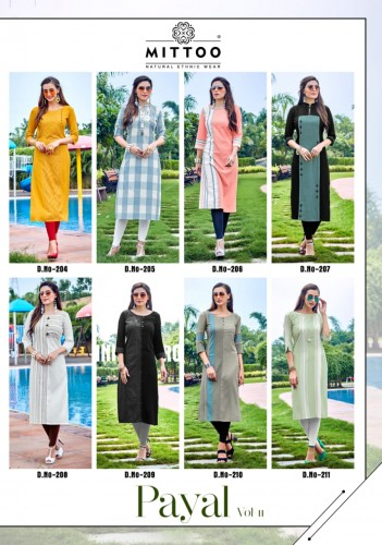MITTOO PAYAL VOL 11 KURTI MANUFACTURER3.jpg