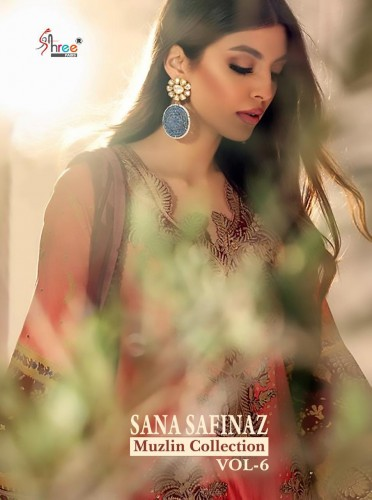 SHREE FABS SANA SAFINA MUZLIN COLLECTION 6 PAKISTANI SUITS AT WHOLESALE PRICE  (2).jpg