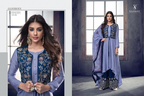 BUY ONLINE SAJAWAT CREATION SARTHI VOL 4 WHOLESALE PRICE (12).jpeg