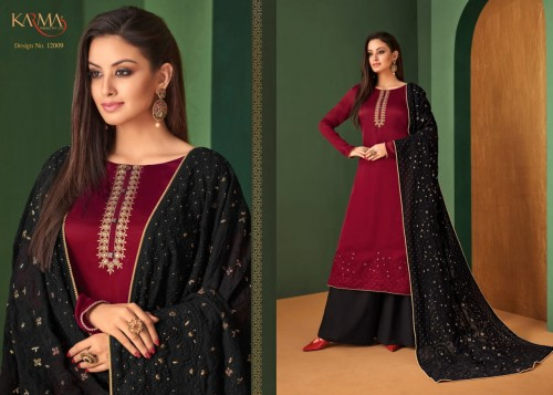 KARMA TRENDZ 12006-12011 SERIES HEAVY EMBROIDERED SALWAR SUITS CATALOGUE WHOLESALE SURAT (10).jpg