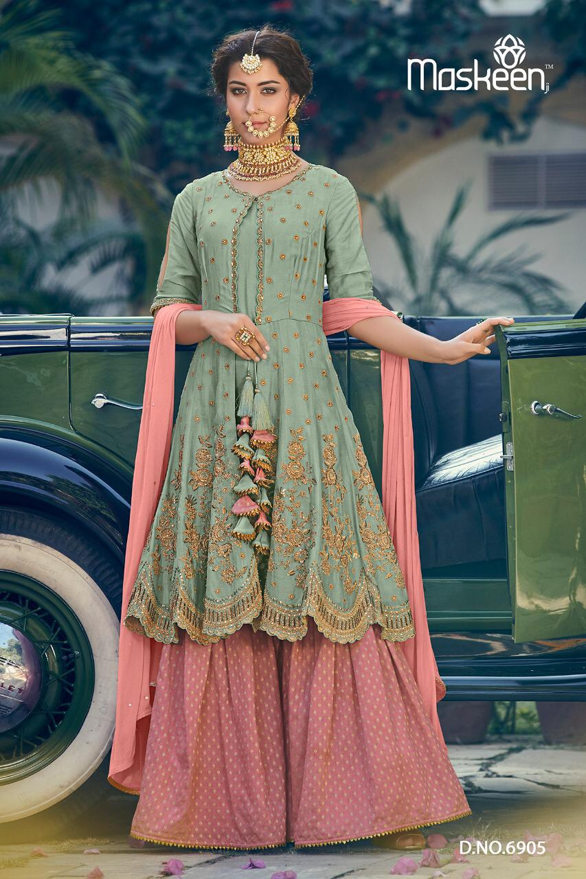 65be67e9a4 MASKEEN MAISHA RIWAAYAT 6901-6907 SERIES CATALOGUE DRESSES ONLINE INDIA  (6).jpeg