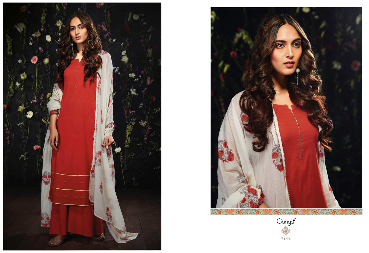 e17c55b076 GANGA-HARLET-COTTON-SUITS-LATEST-CATALOGUE-WITH-PRICE-