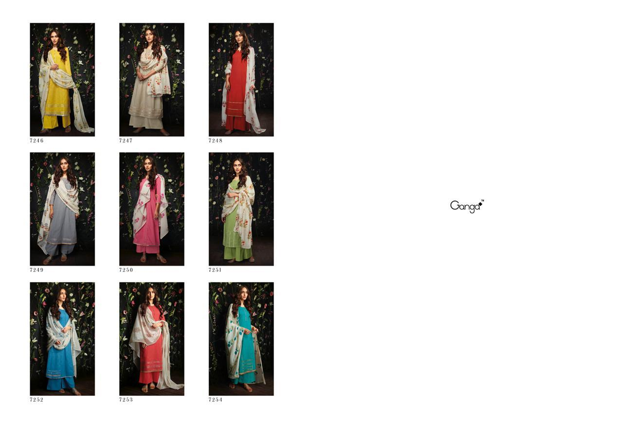 9cf6feaaff Y-GANGA-HARLET-COTTON-SUITS-LATEST-CATALOGUE-WITH-