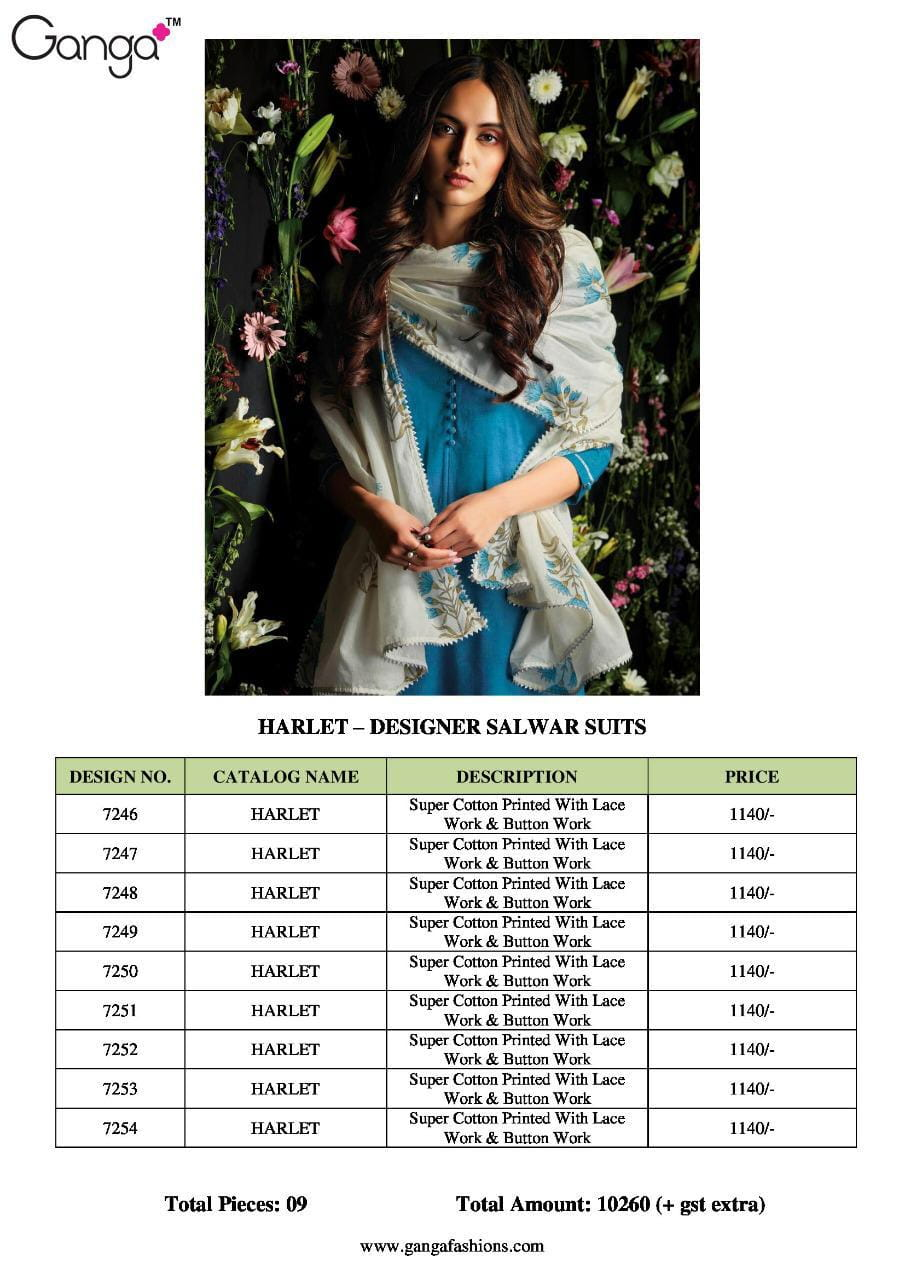 cf54416782 Z-GANGA-HARLET-COTTON-SUITS-LATEST-CATALOGUE-WITH-