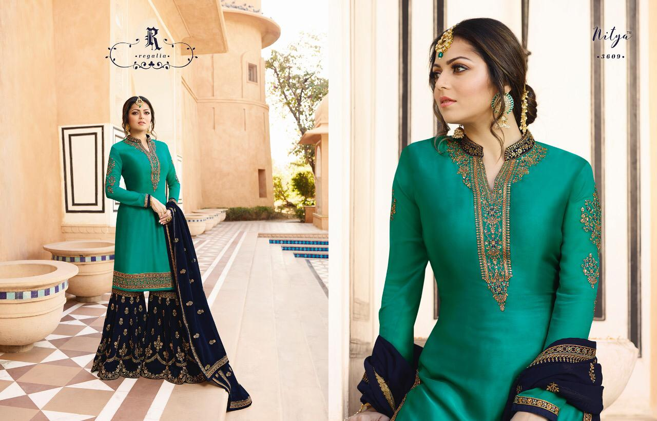 d7aef22b11 LT FABRICS NITYA 136 LATEST CATALOGUE WHOLESALE