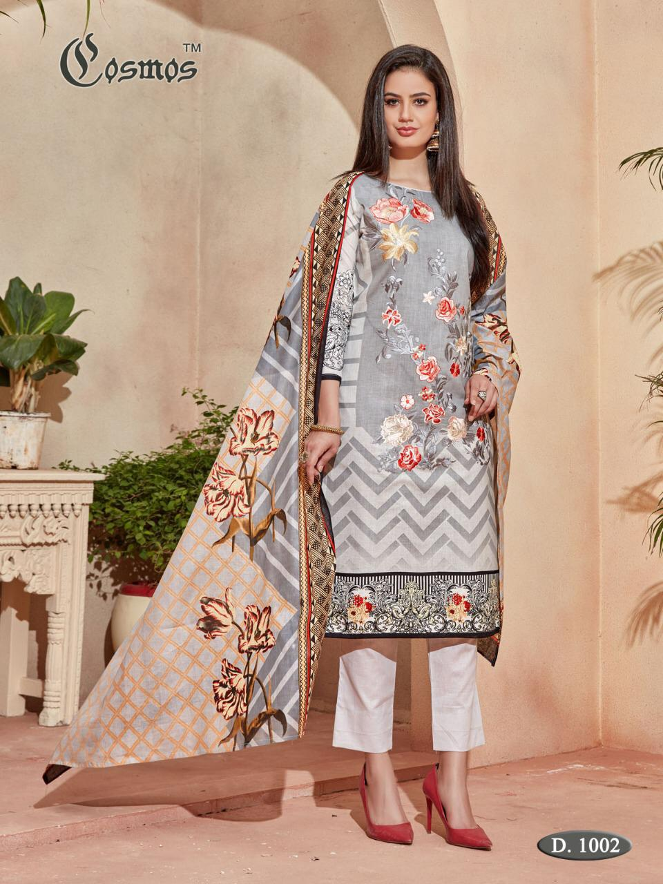 d8f9dc4fa0 COSMOS FASHION SAADIA NOOR LAWN VOL 1 PAKISTANI SUITS WHOLESALE IN SURAT  (23).