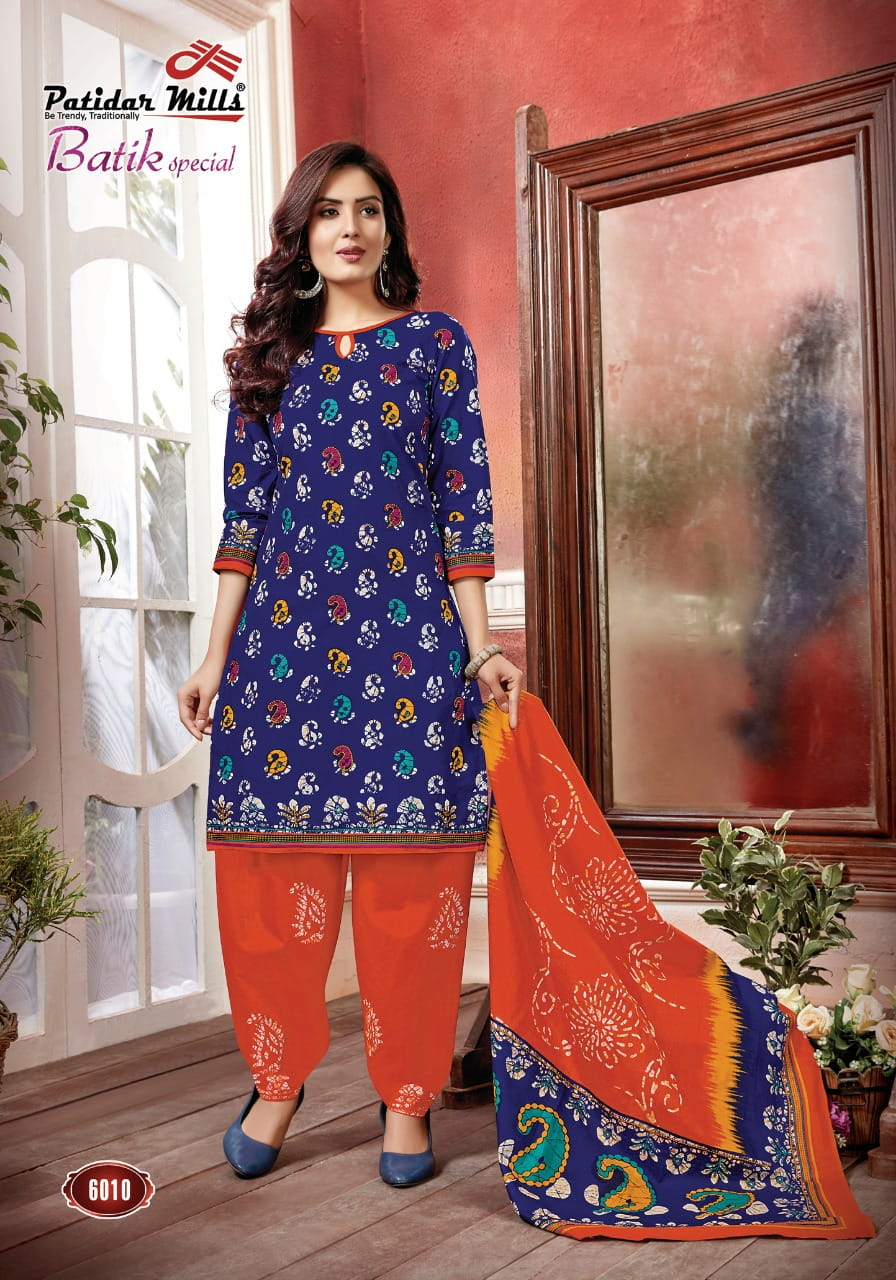 8fac1dd50b4 PATIDAR MILLS BATIK SPECIAL SPECIAL VOL 6 COTTON PRINTED DRESS MATERIAL  MANUFACTURER JETPUR (1) ...