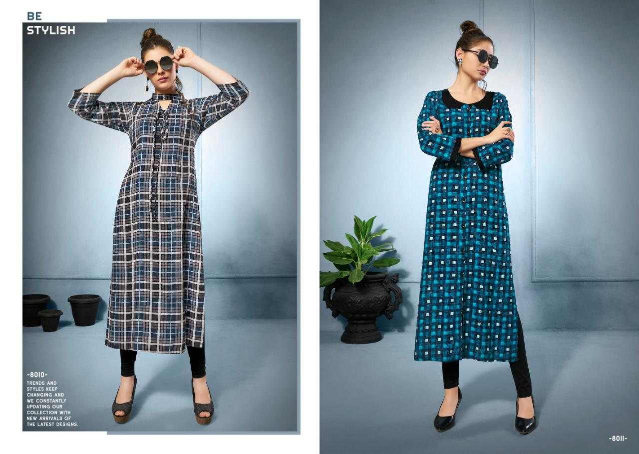 9f93dc7d61 SWEETY FASHION CHECKS VOL 8 RAYON KURTIS SURAT GUJARAT (7).jpg
